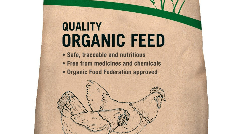 Marriage's Organic Poultry Grower Pellets 20kg