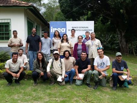 Horto Florestal de Santos Lima recebe Curso de Georreferenciamento de Matrizes Florestais e Coleta d
