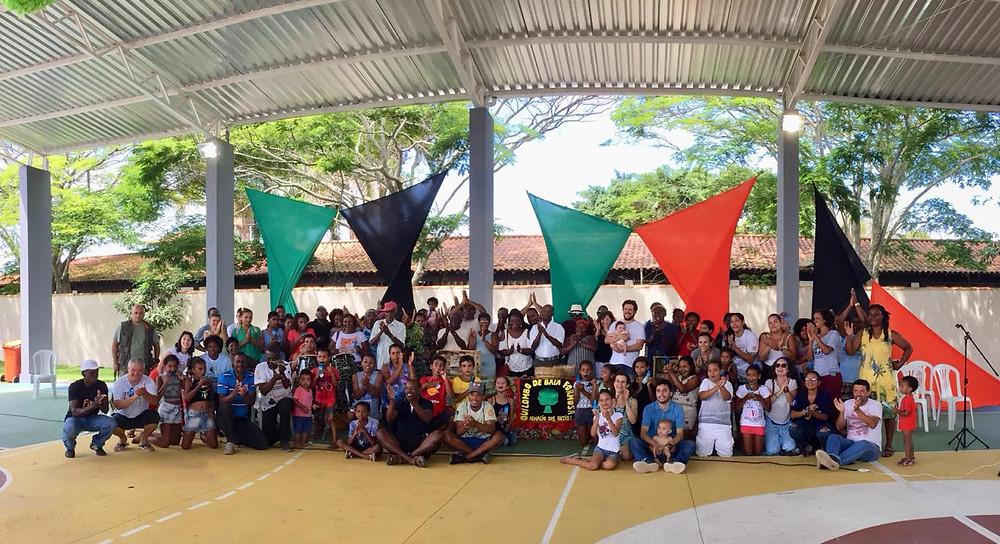 Comemoração Consciência Negra - Cadastro Ambiental Rural - Quilombo de Baia Formosa - Buzios