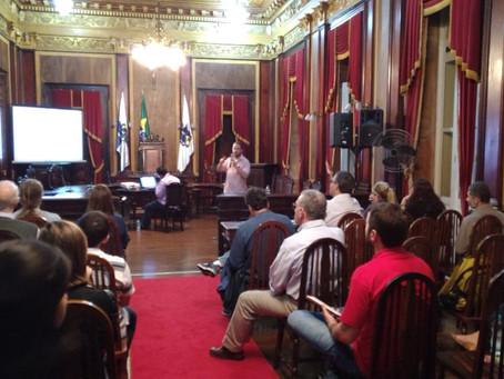 Inea realiza apresentação sobre o BANPAR para produtores rurais em Petrópolis - RJ