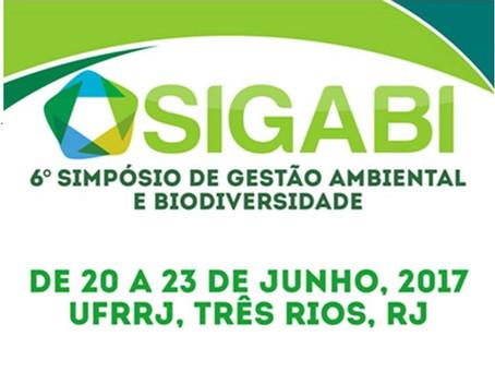 6º Simpósio de Gestão Ambiental e Biodiversidade - SIGABI