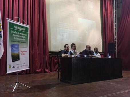 Workshop desafios da restauração florestal no estado do Rio de Janeiro