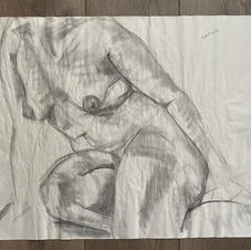 20 Minute Seated Nude