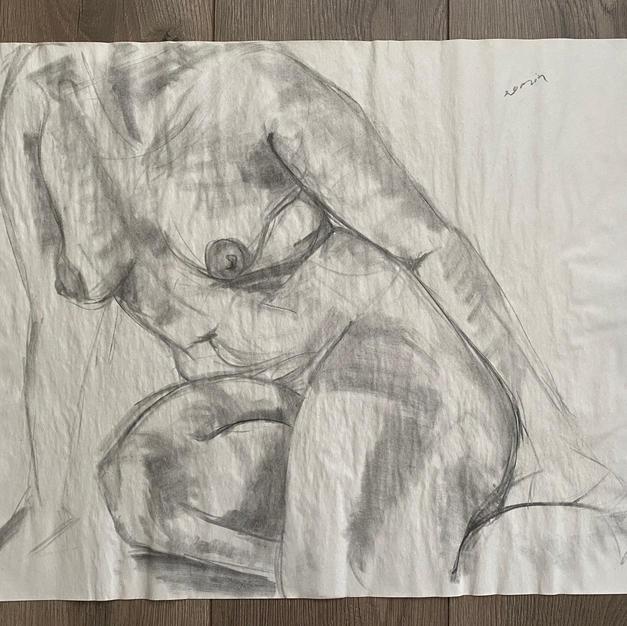 20 Minute Seated Nude