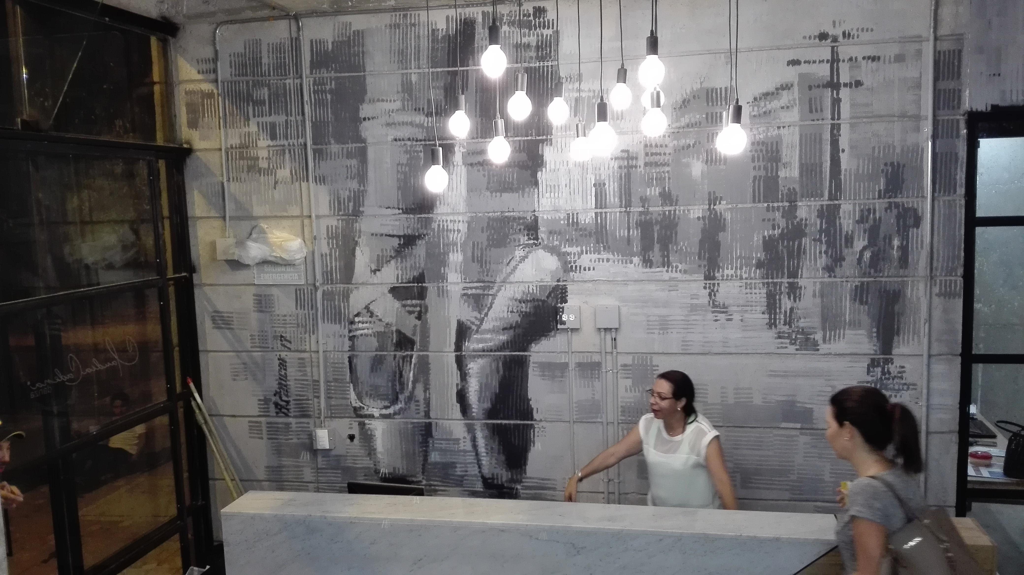 Mural Claudia Cadena Danza
