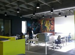 Mural oficinas Designit