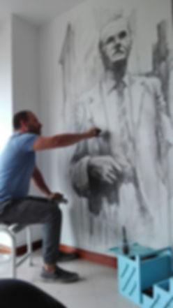 Alejandro Paucar murales