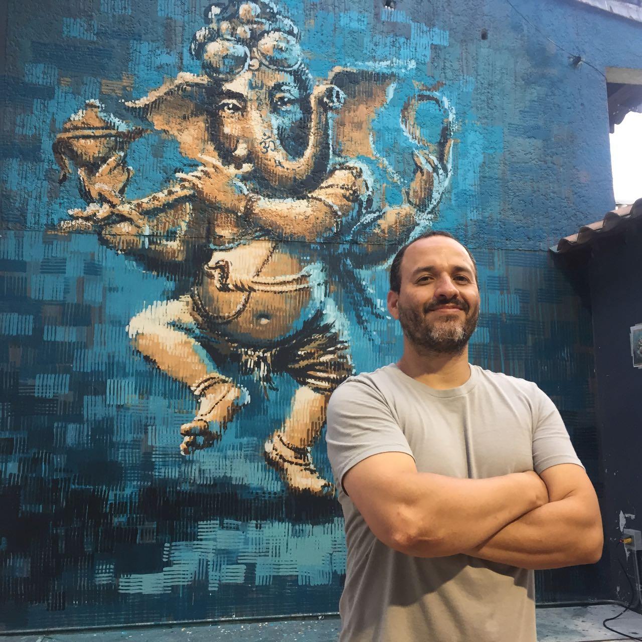 Ganesh en casa de Fernando Puerta