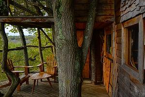 au bois d'Emma et loue - la cabane perch