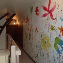 Peinture et pose de papier peint - Adelles.JPG