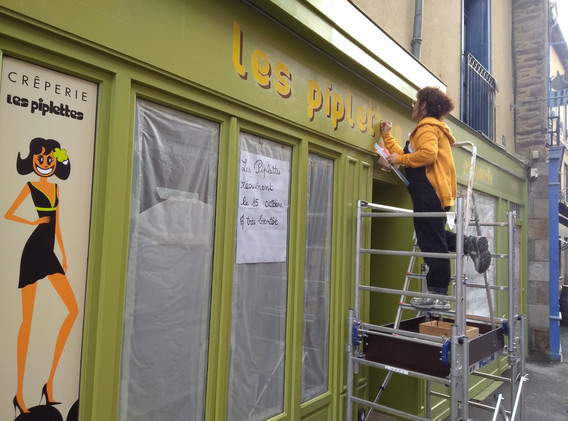 Les piplettes - enseigne et lettres peintes à la main - Adelles.jpg