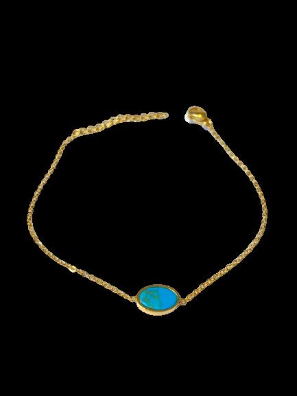 bracelet tout simple pierre naturelle