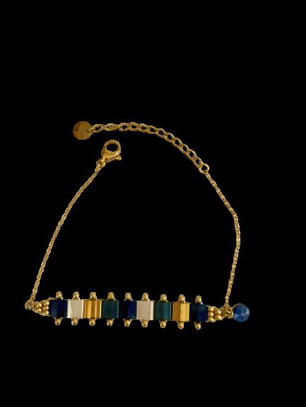 bracelet miyuki noir