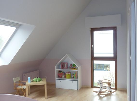 chambre d'enfant - peinture Adelles