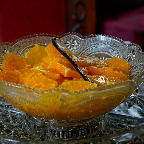Salade d'Orange _ Au Bouillon de Midi _