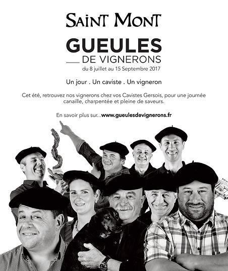 Pub Saint Mont Gueules de Vignerons