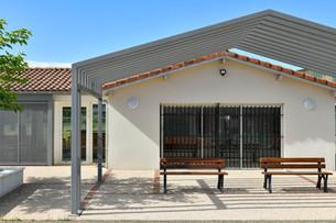 David Boe construction Club House deNogaro
