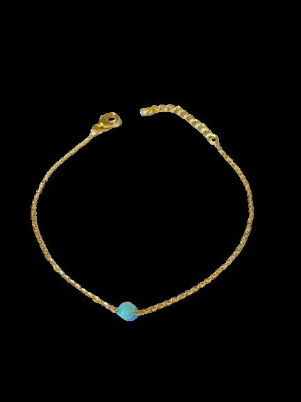 bracelet très fin Amazonite