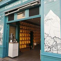Tea & Cie, Rennes, devanture, signalétique, lettres peintes - Adelles.jpg.jpg