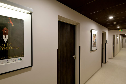 Le Pardaillan - à l'étage, les chambres