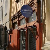Bianina  - enseigne peinte à la main, Adelles