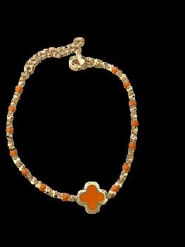bracelet_trèfle_émail_orange.png