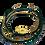 Thumbnail: bracelet multirangs soleil malachite