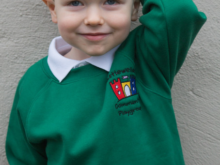 Ollie starts Pre School
