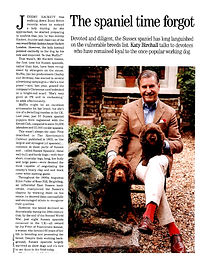 Country Life Article Page 1