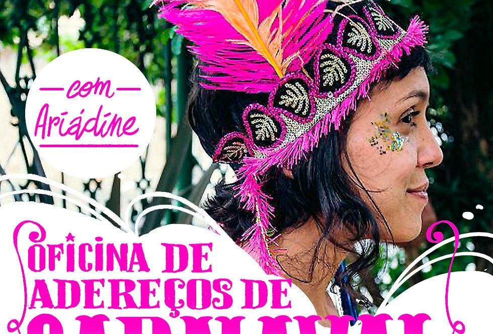 Oficina de Adereços de Carnaval 15/02/2020