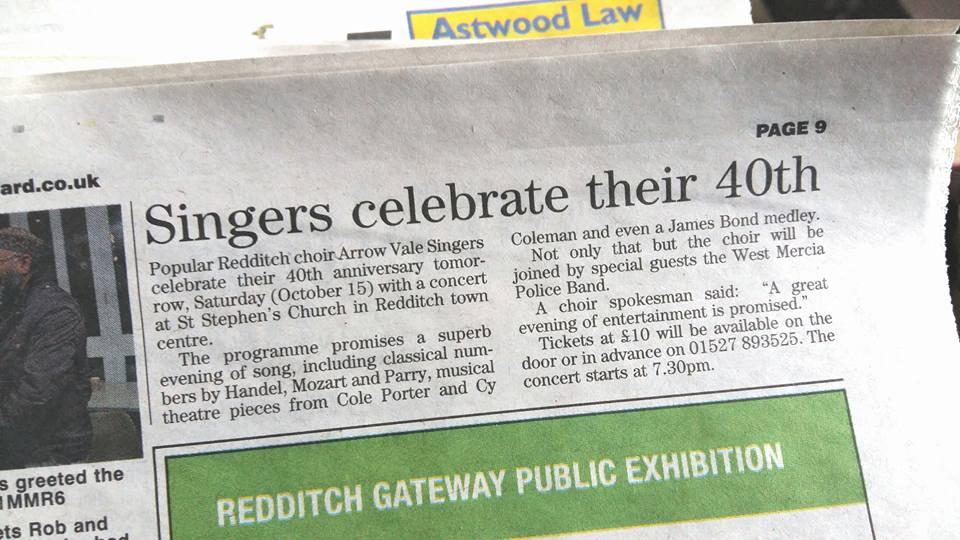 40th Anniversary Press Release