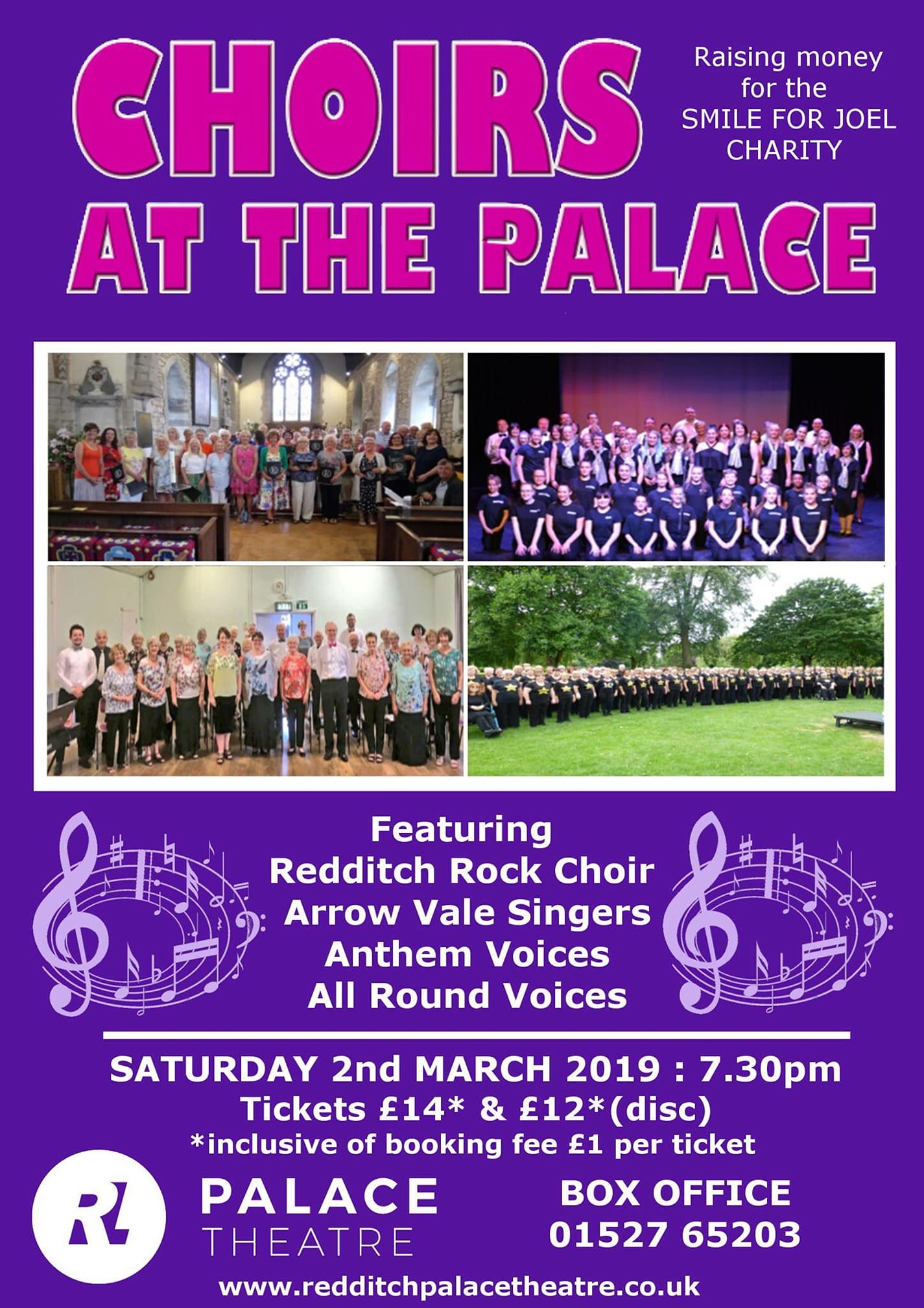 Choirs at the Palace Poster