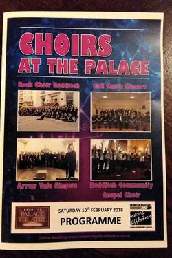 Choirs at the Palace Poster 2018