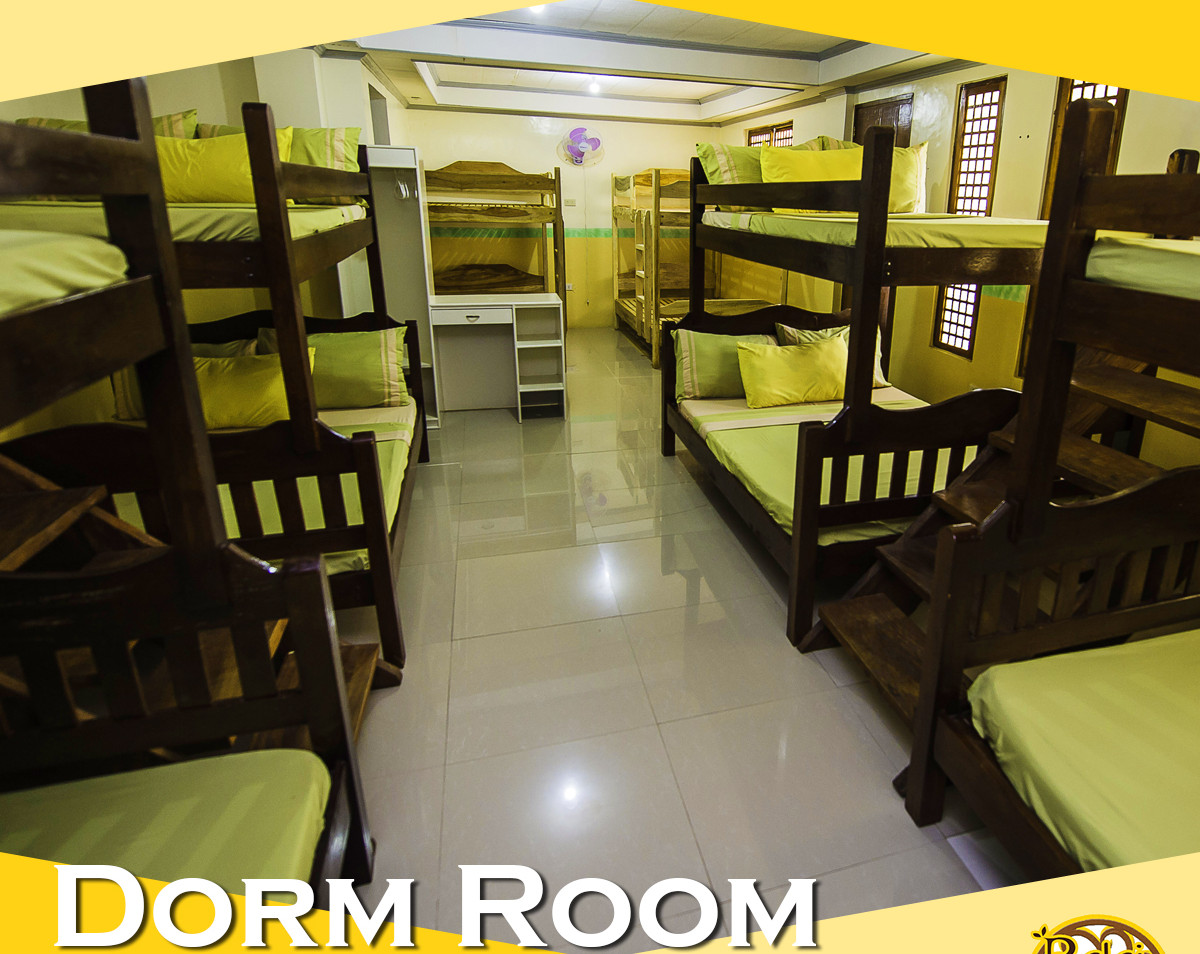 Good for 8 persons with maximum occupants up to 24 persons. With six double deck beds, it also have its own comfort room, television, mini cabinet and air-condition.