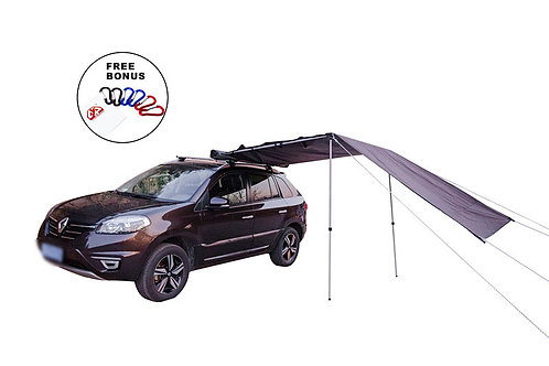 200x250 Car Awning with Front Extension