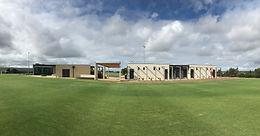 Construction Complete - PEGS Sports Pavilion