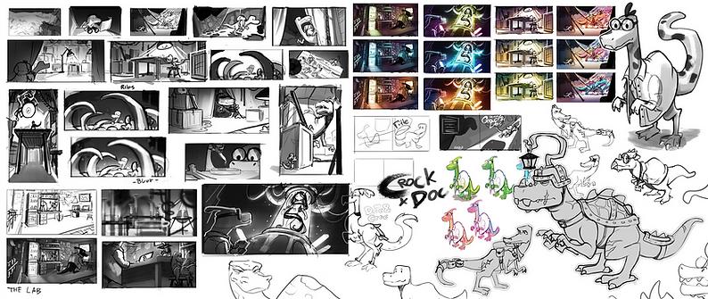 Thumbnails & sketches