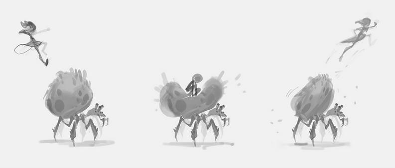 potential game mechanic - pillow bugs.pn