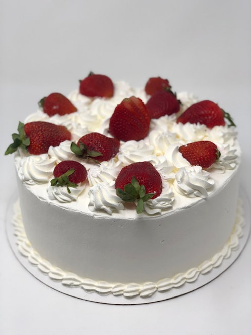 Double Filled Whip Cream Cakes