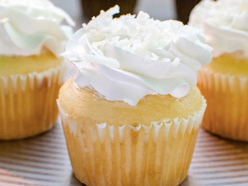 Double Filled Whip Cream Cupcakes