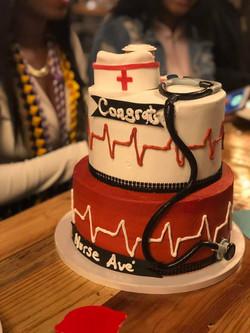 Graduation Celebration Cake