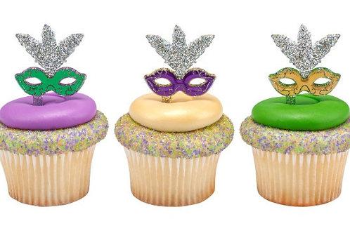 Mardi Gras! Cupcakes