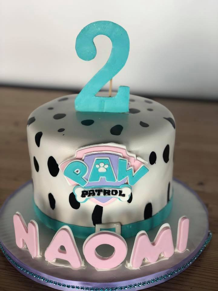 2-year-old's PAW Patro Birthday Cake