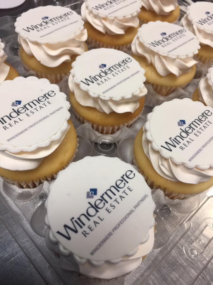 Corporate Celebration Cupcakes