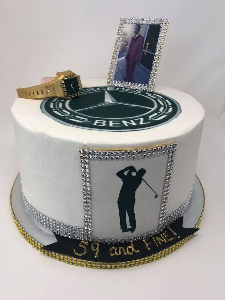 Men's Birthday Cake