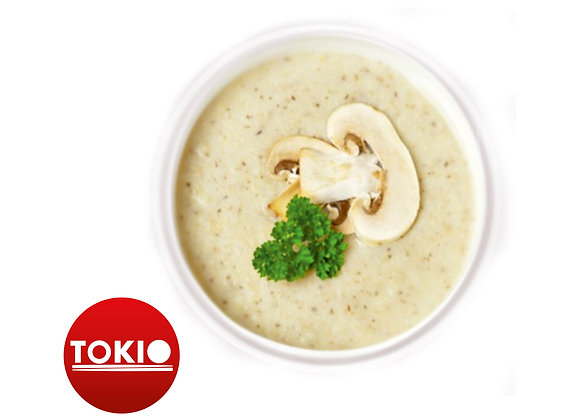 Крем-суп из свежих шампиньонов