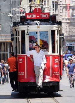 Istiklal Cd. tram to Taksim