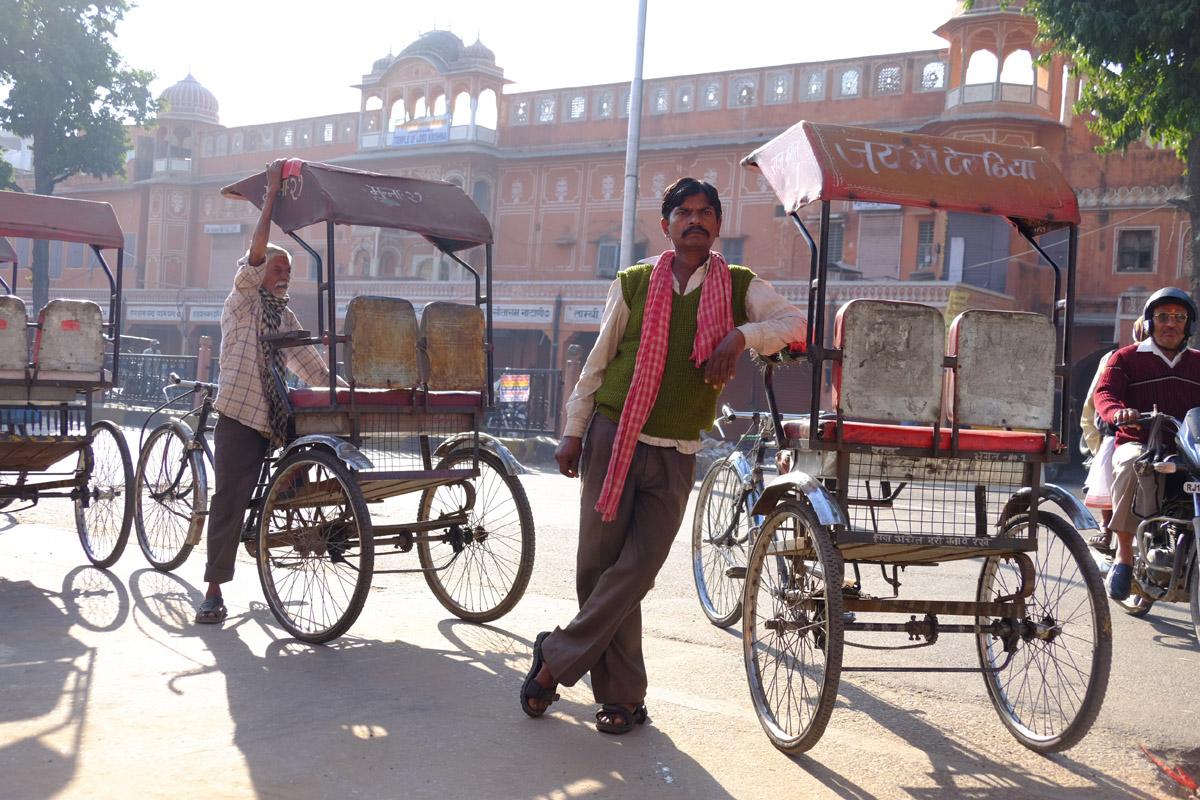 Rikshaw driver Jaipur