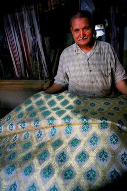 The last brocade weaver