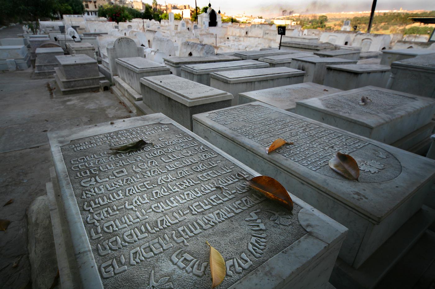 Mellah cemetery